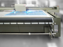 Digitaldruckmaschine der Druckerei Sericolor Nürnberg